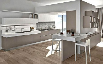 Come valutare e pensare una bella cucina wevux - Cartongesso per cucine moderne ...